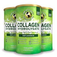 Great Lakes Gelatin Collagen Hydrolysate 454g - 3 Pack