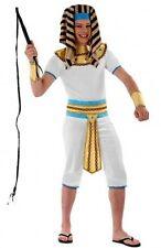 Déguisement Garçon PHARAON 14/16 Ans Costume Enfant Ado Roi Egypte Egyptien NEUF