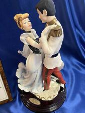 1997 Disneyana Armani Figurine 107/C, Disney Cinderella and Prince (Le of 1000)