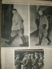 Photo article Goring and Keitel at Nurmberg 1946 ref Ap