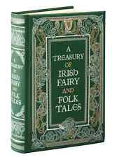 *New Leatherbound* A TREASURY OF IRISH FAIRY AND FOLK TALES (2016)