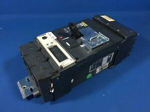 SQUARE D LJA36400CU44X 400A 600V 3P I-LINE CIRCUIT BREAKER