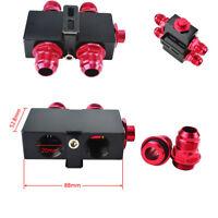 Auto AN10 Ölfilter Thermostat Fitting Adapter M20 x 1,5 Ports Mit Dichtungen
