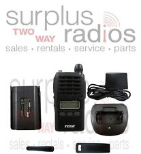 Tekk X-100V VHF 2W 128CH BUSINESS RADIO COMPACT SIZE WAREHOUSE OFFICE CLUBS