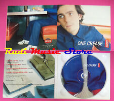 CD singolo Mr.Oizo One Crease CD9901 ITALY 1999 PROMO DIGIPAK no lp mc(S19)