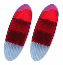 New VW Type 3 Rear Tail Light Lens Red Top 1970-1973 - Pair