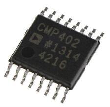1 x Analog Devices CMP402GRUZ Quad Comparator Open Drain O/P 65ns 16-Pin TSSOP