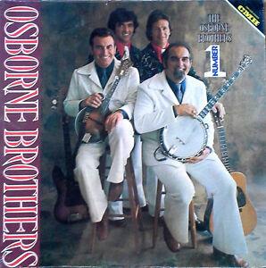 OSBORNE BROTHERS - NUMBER ONE - CMH LABEL - 1976 LP - STILL SEALED
