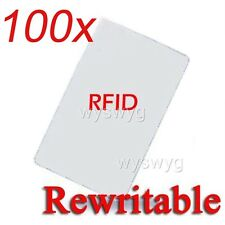 100pcs Writable Rewrite 125KHz EM4100 RFID ID Card For Copier Access control