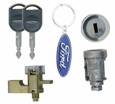 Ford Explorer 2008-2012 Lock Set w/2 Chip Keys- Ignition Cylinder & Door Lock