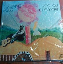 DISCO LP 33 GIRI VINILE LUCIANO ROSSI -DA QUI ALL'AMORE - ARISTON 1976 - MINT