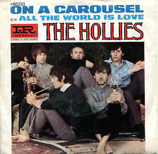 "The Hollies 7"" On A Carousel (schönes, sehr rares USA Bildcover, Imperial 1967)"