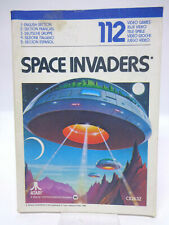 Anleitung - Handbuch - Bedienungsanleitung Atari - Space Invaders