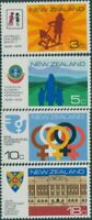 New Zealand 1975 SG1065-1068 Anniversaries and Events set MNH