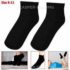 Trainer Liner Quarter Low Socks Mens Womens Cotton Rich Sports Grey 3 6 12 Pairs