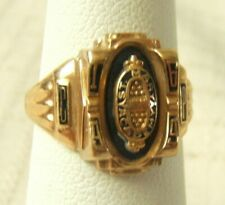 10K GOLD CLASS RING 1969 ST MARY ACADEMY