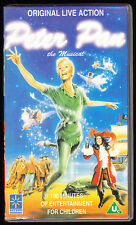 PETER PAN - THE MUSICAL - LIVE - VHS PAL (UK) VIDEO