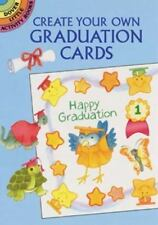 CREATE YOUR OWN GRADUATION CARDS, postcards + stickers to decorate, acid-free