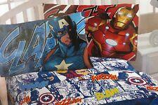 4 pc Marvel Avengers Assemble Full Sheet Set NIP