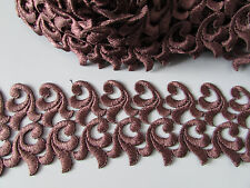 Brown Venise Lace Trim 1 Metre   Sewing/Costume/Crafts/Corsetry