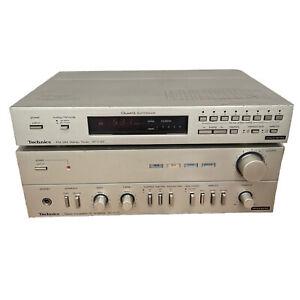 Technics SU-C03 Stereo Integrated DC Amplifier & ST-C03 AM/FM Tuner ST-C 03 SU-C