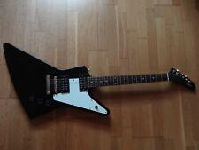 Epiphone - Gitarre EXPLORER - E-Gitarre mit Gibson Tonabnehmern (schwarz)