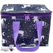 Sass & Belle Starlight Unicornio Mágico Retro Caja de Almuerzo Bolso Picnic Cremallera Bolsa Regalo