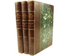 1857 Two Years Ago, Rev. Charles Kingsley. Macmillan. Fine binding. 1st ed.
