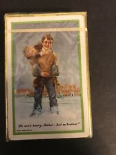 vintage playing cards deck sealed Remembrance New Father Flanagan's Boys Home