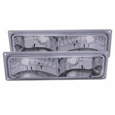 Anzo USA Euro Clear Lens Turn Signal/Parking Lights, GM C/K Trucks; 511032