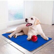 Il Negozio di animali di raffreddamento Cooler Gel Tappetino Per Cani & Gatti Blu Scuro-Grande 90 x 70cm