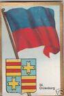 Deutschland Germany OLDENBURG DRAPEAU FLAG IMAGE CARD 30s