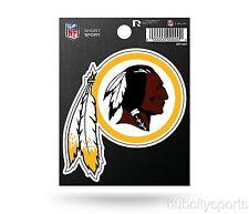 "Rico NFL Washington Redskins 3"" x 3"" Die-Cut Decal Window, Car or Laptop new"