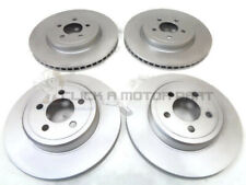 CHRYSLER 300C 3.0 CRD 3.5i 2005-2011 FRONT & REAR BRAKE DISCS SET NEW