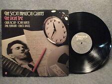 33 RPM LP Record The Scott Hamilton Quintet The Right Time 1987 Concord CJ-311