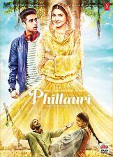 PHILLAURI DVD - ANUSHKA SHARMA - 2017 BOLLYWOOD MOVIE DVD / ENGLISH SUBTITLE