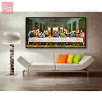 Canvas print wall art decor poster The Last Supper Famous Biblical Painting vbf