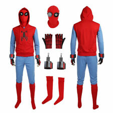 Top Grade Spider Man Homecoming Spiderman Peter Parker Cosplay Costume