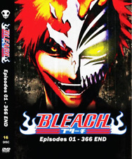 DVD ANIME BLEACH Complete Series Vol.1-336 End ENGLISH DUBBED + FREE EXPRESS USA