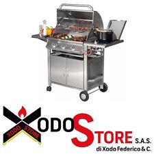 Barbecue a gas in acciaio inox SUNDAY modello TEXAS 3 - sconto BBQ occasione