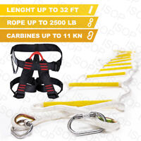 Fire Emergency Rope Ladders 3 - 4 Story Homes 10m (32 ft) Safety Escape Ladder