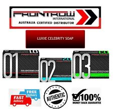 3 FRONTROW CELEBRITY LUXXE SOAP 1,2,3 Glutathione Skin Whitening Bar