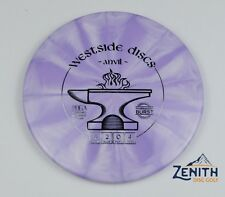 Westside Discs Tournament Burst Anvil Sports Golf Disc 174 g Purple New