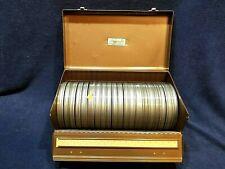 """20 Compco Film Reels  6""""    8mm Reels &  Ambassador Case"""