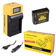 Batteria Patona caricabatteria Synchron LCD USB per Panasonic Lumix DC-TZ90
