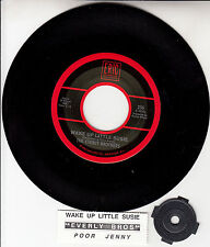 """EVERLY BROTHERS Wake Up Little Susie & Poor Jenny 7"""" 45 rpm vinyl record NEW"""