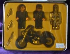 Cult Movie TERMINATOR 2 Block Mini figures in Collectors Tin by Noble toys RARE