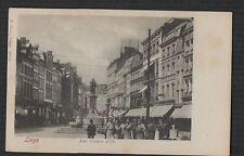 Liège. Rue Vinave d'ile. F. Bordt.  vintage  postcard  Zd.289