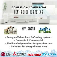 Air Conditioning, heating and cooling solutions