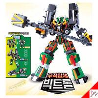 "New Tobot V BIGTROLL Integration ""TROLL+BIGTRAIL""Copolymer Transformer Robot Toy"